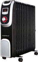 Aigostar Oil Monster 33JHH – Oliegevulde radiator - 2500 watt - Zwart
