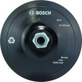 Bosch - Steunschijf met klithechtsysteem 125 mm, 12.500 o.p.m.