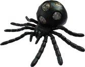 Jonotoys Stressbal Spin 15 Cm Zwart/geel