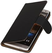 Wicked Narwal   bookstyle / book case/ wallet case Hoes voor HTC One mini M4 Zwart