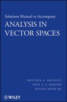 Analysis in Vector Spaces