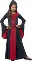 Vampier mantel voor meiden 130-143 (7-9 jaar)