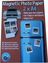 Magnetisch Fotopapier - Magnetisch glanzend fotopapier- Snelgrogend - Magnetic Photo Paper - A4