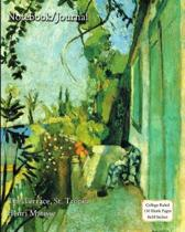 Notebook/Journal - The Terrace, St. Tropez - Henri Matisse
