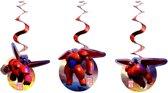 Set van 3 versieringen Big Hero 6™ - Feestdecoratievoorwerp