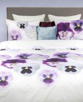 HNL Pure Cotton Violet Dekbedovertrek - Eenpersoons - 135x200 + 80x80 cm - Multi