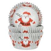 House of Marie Cupcakevormpjes - Kerstman - 50 stuks