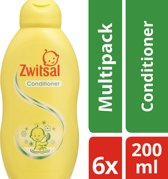Zwitsal Conditioner - 6 x 200 ml - Voordeelverpakking