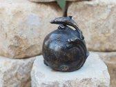 Grafdecoratie - urn - bronzen beeld - Dolfijn - Bronzartes