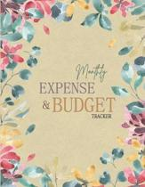 Monthly Expense and Budget Tracker: Bill Payments Checklist Organizer Planner Log Book Money Debt Tracker Keeper Budgeting Financial Planning Journal