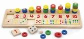 Telspel New Classic Toys: getallen 42x13x8 cm -