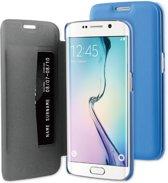 BeHello Book Case voor Samsung Galaxy S6 Edge - Blauw