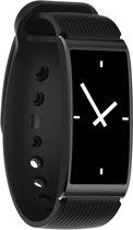 X3 0.96 inch scherm Display siliconen horloge Band Bluetooth Smart armband  waterdicht IP68  steun stappenteller / Heart Rate Monitor / slapen Monitor / bloed druk Monitor  compatibel met Android en iOS Phones(Black)