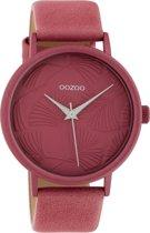OOZOO Timepieces Roze horloge  (42 mm) - Roze