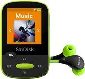 Sandisk Sansa Clip Sport - MP3-speler - 8 GB - Limoen