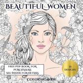 Beautiful Women Coloring Book