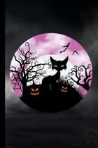 Halloween Cat: Haunted Spooky Halloween Party Scary Hallows Eve All Saint's Day Celebration Gift For Celebrant And Trick Or Treat (6''