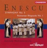 Enescu: Symphony no 3 etc / Rozhdestvensky, BBC Philharmonic et al