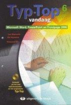 TYP-TOP Vandaag 6 (office 2000) - leerwerkboek (+ cd-rom)