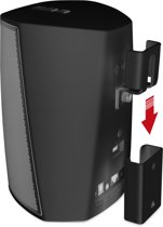 Vebos portable muurbeugel Denon Heos 1 zwart