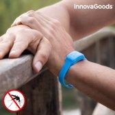 Innovagoods Anti-Muggenarmband Met Citronella - Blauw
