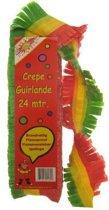 Crepe Carnavals Guirlande brandveilig