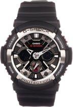 G-Shock GA-200-1AER - Horloge - 52 mm - Kunststof - Zwart