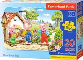 Three Little Pigs - Legpuzzel - 260 Stukjes