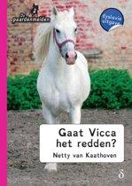 De paardenmeiden 2 - Gaat Vicca het redden? - dyslexie uitgave