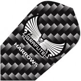 Harrows Darts Flight 7001 Graflite Slim Zwart 3 Stuks