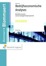 Bedrijfseconomische analyses - Opgaven