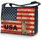 Sleevy 17,3 laptoptas / messengertas USA design