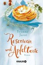 Rosenwein und Apfeltarte