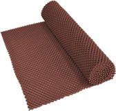 Aidapt anti-slip mat bruin - voor lade, dienblad, vloer