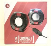 Trust Urban Compact Speakerset for Laptop and PC Black/Red