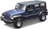 Modelauto Jeep Wrangler Unlimited Rubicon 1:32 - speelgoed auto schaalmodel