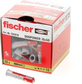 Fisher Duopower plug 10x50mm