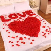 Mooie rode rozenblaadjes 520st van SDE-Commerce - Kunst rozen blaadjes (feest, huwelijk, verjaardag etc.)