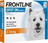 Frontline Spot-On S Anti vlooienmiddel - Hond - 4 pipetten