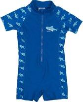 Playshoes UV zwempak Kinderen korte mouwen Shark - Blauw - Maat 86/92