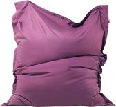 Beliani Zitzak Sitzsack Big paars - polyester - 140x180cm