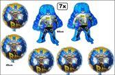 7x Folie ballon Batman