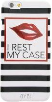 BYBI - iPhone 6s Hoesje - Harde Back Case I Rest My Case