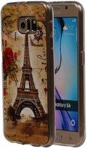 Samsung Galaxy S6 Hoesje Eiffeltoren TPU