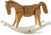 Riviera Maison Rustic Rattan Rocky Horse - 13x33 Cm - Bruin