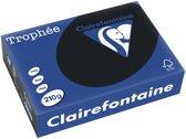 Clairefontaine Trophée Intens A4 zwart 210 g 250 vel