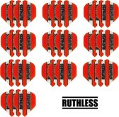 Dragon darts - 10 Sets (30 stuks) - Ruthless - sterke flights - Oranje - darts flights