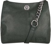 Chabo Bags Chain Bag Small Green Schoudertas  - Groen