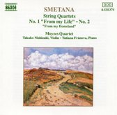 Smetana: String Quartets No 1 & 2 / Moyzes Quartet