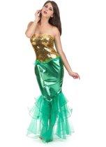 Zeemeermin kostuum voor vrouwen  - Verkleedkleding - Medium
